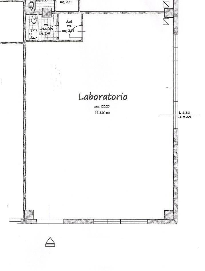 Locale comm.le/Fondo a Vicopisano