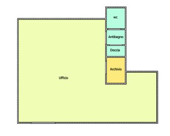 Ufficio in affitto - Fornacette, Calcinaia