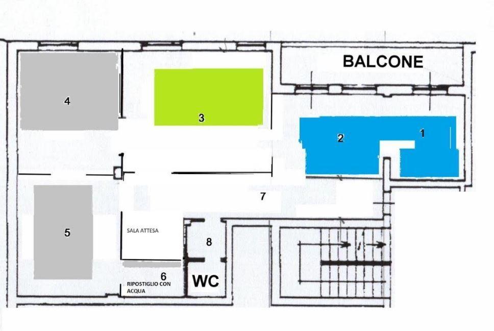 Ufficio in affitto commerciale, rif. 106716