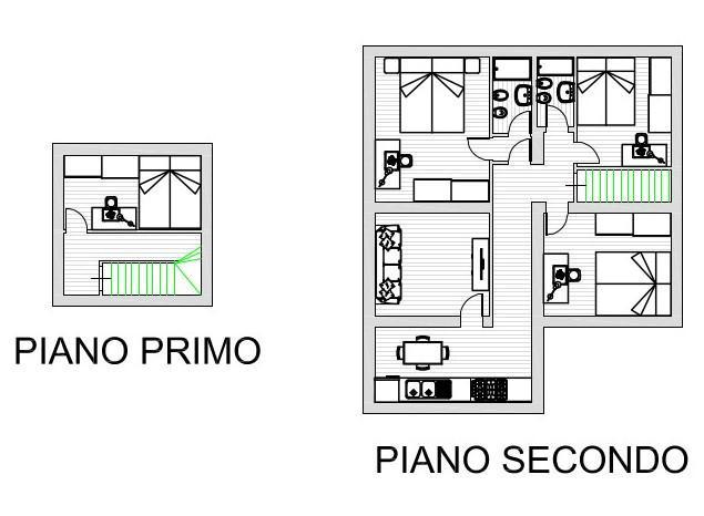 Appartamento in affitto, rif. R004
