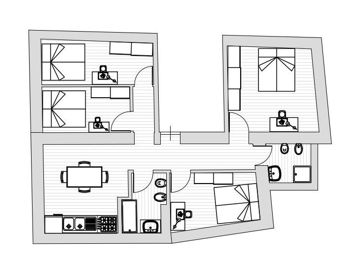 Appartamento in affitto, rif. R007