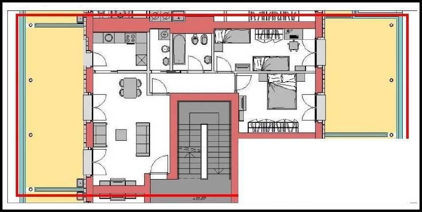 Attico / Mansarda in vendita a Pisa, 3 locali, prezzo € 358.000 | PortaleAgenzieImmobiliari.it