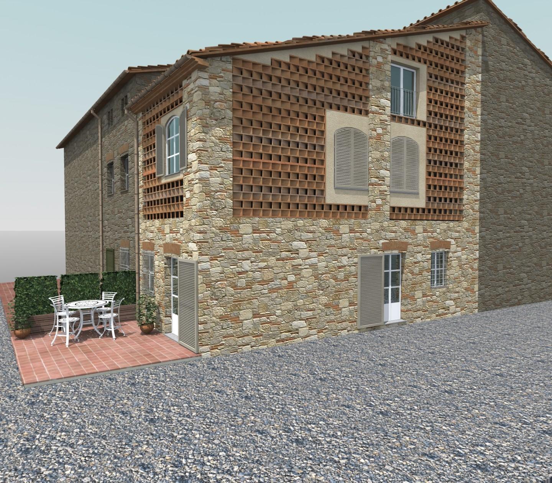 Terratetto in vendita a San Cassiano A Vico, Lucca