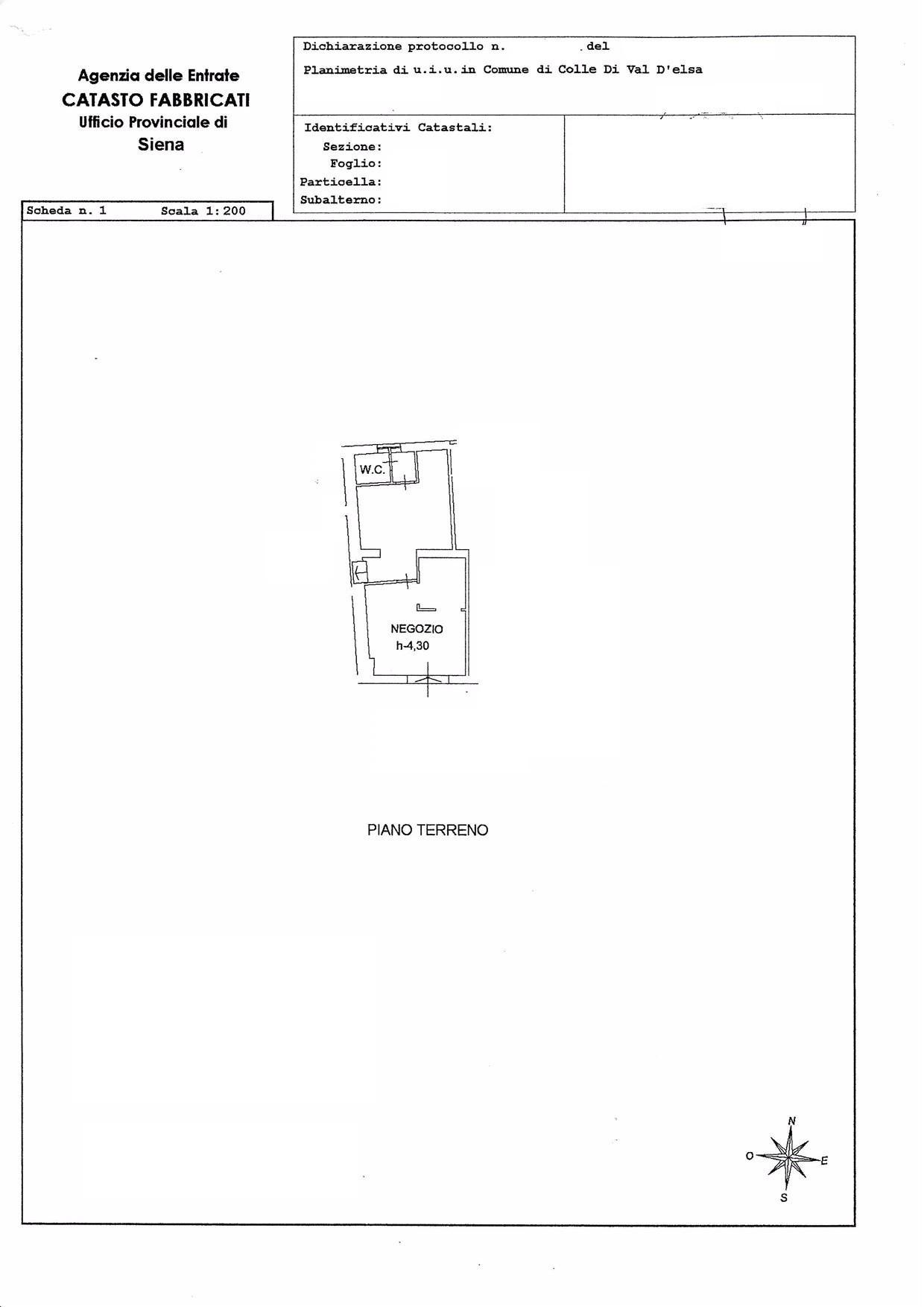 Negozio in affitto commerciale, rif. 70-n
