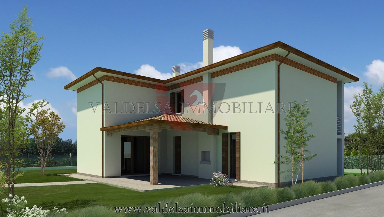 Terreno edif. residenziale in vendita a Colle di Val d'Elsa (SI)