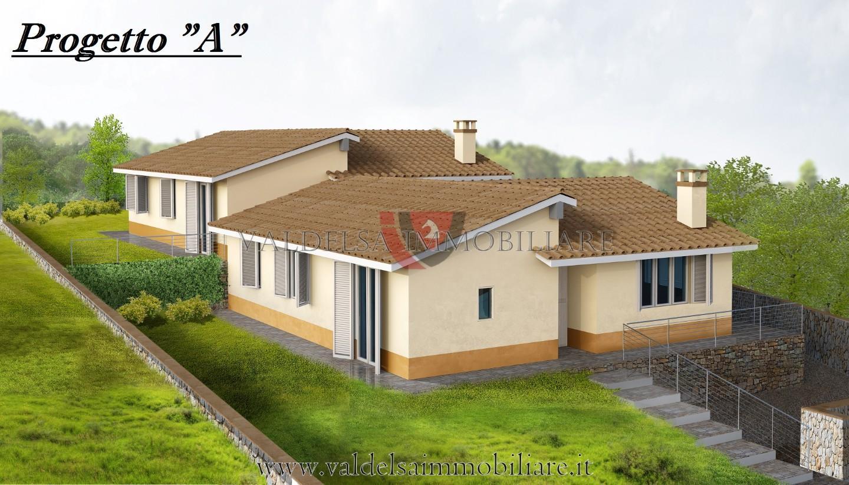 Villetta bifamiliare in vendita a Colle di Val d'Elsa (SI)