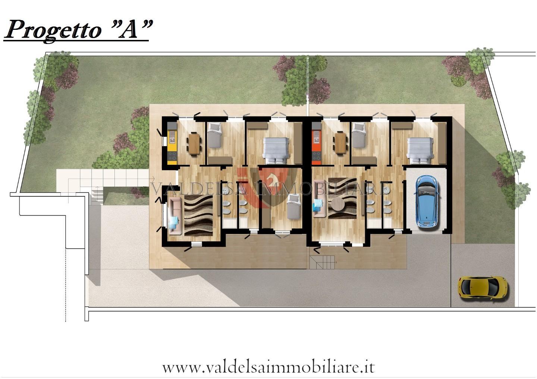 Villetta bifamiliare in vendita, rif. 577-e