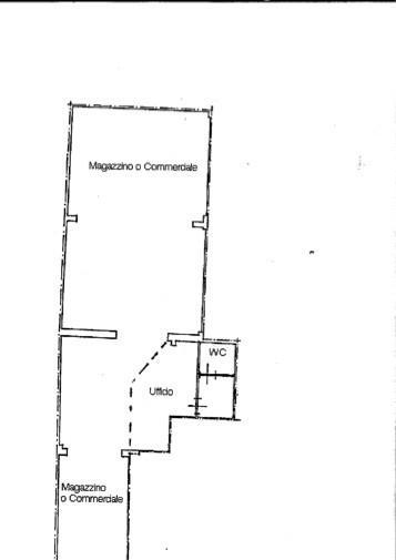 Magazzino in affitto commerciale a Pontedera (PI)