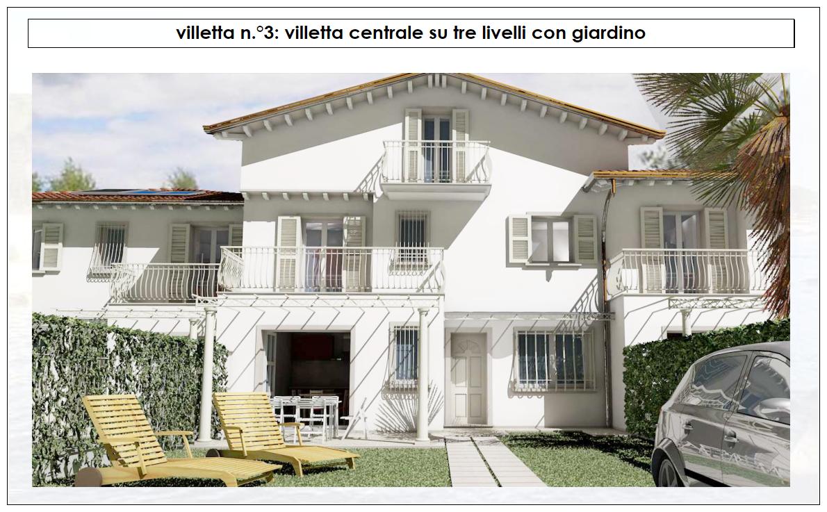 Villetta a schiera in vendita a Cinquale, Montignoso (MS)