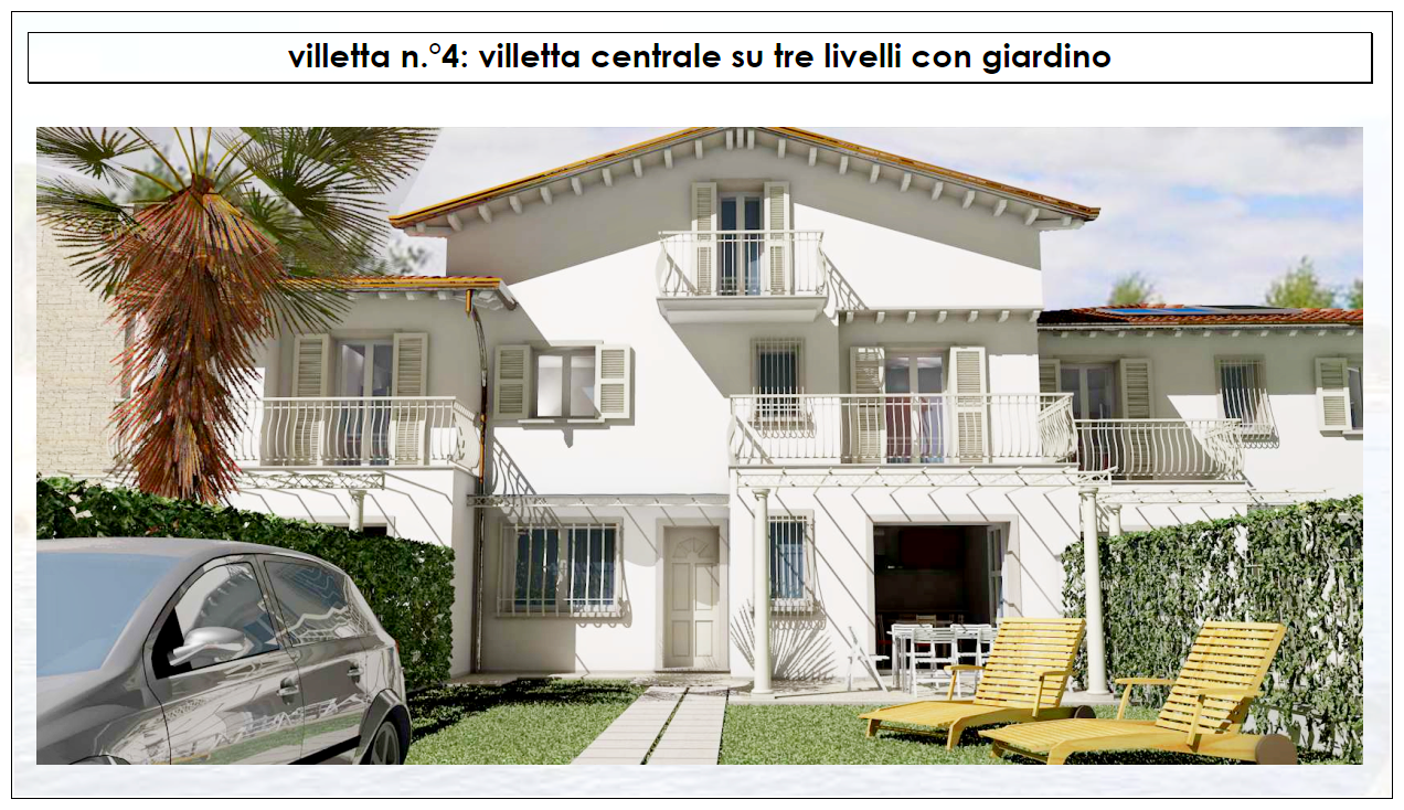Villetta a schiera in vendita a Montignoso (MS)