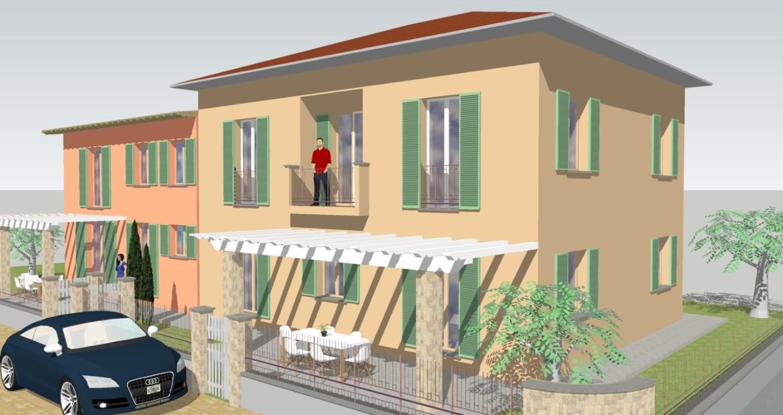 Villetta quadrifamiliare in vendita, rif. 02331