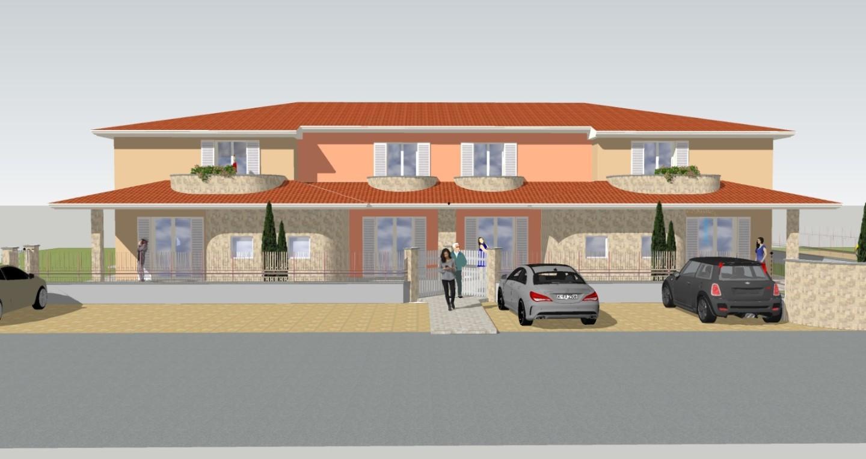 Villetta quadrifamiliare in vendita, rif. 02331/1