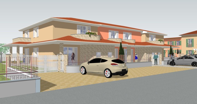 Villetta quadrifamiliare in vendita, rif. 02334