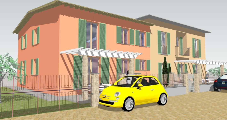 Villetta quadrifamiliare in vendita, rif. 02334/1