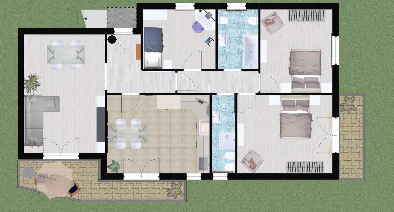 Appartamento in vendita - Badia, Cascina