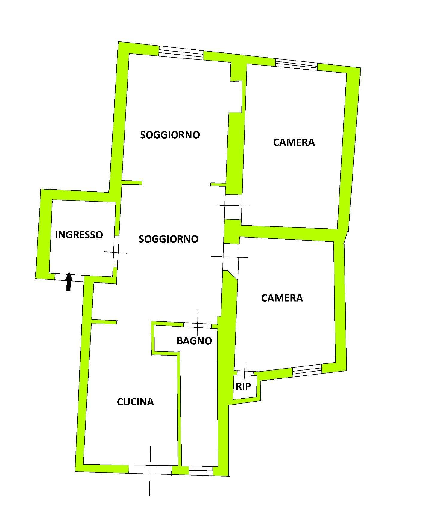 Appartamento in vendita, rif. 02342