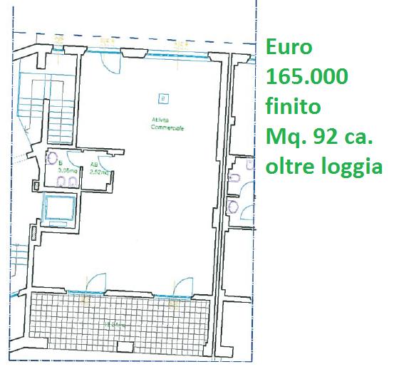 Locale comm.le/Fondo in vendita, rif. 17
