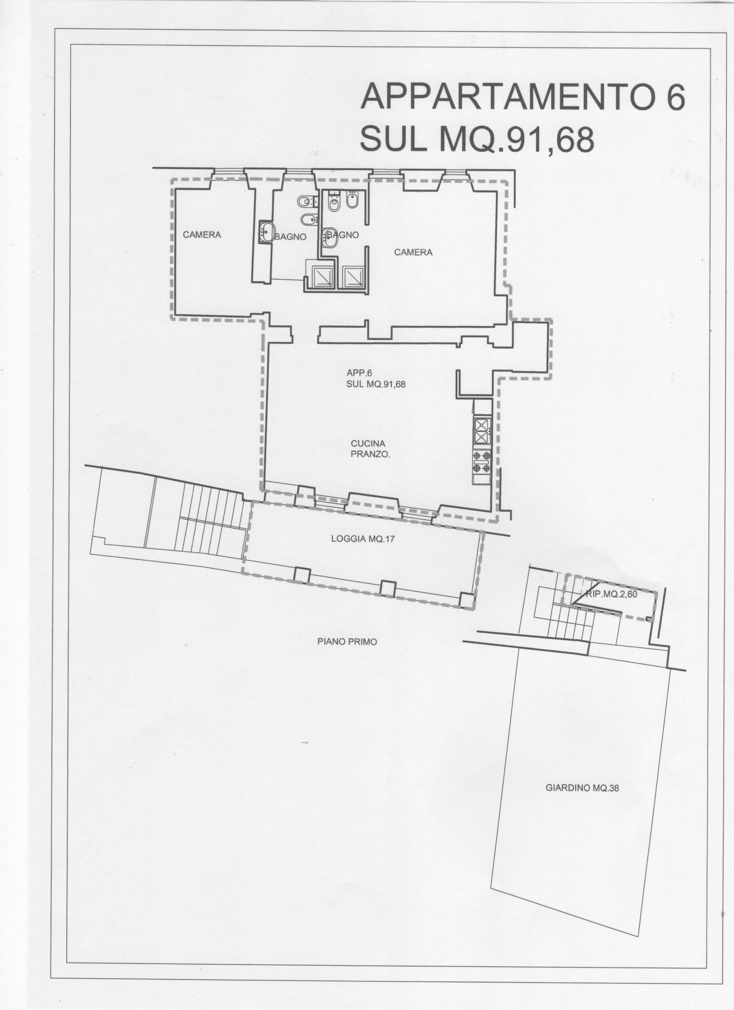 Porzione di casa in vendita a Monteriggioni (SI)