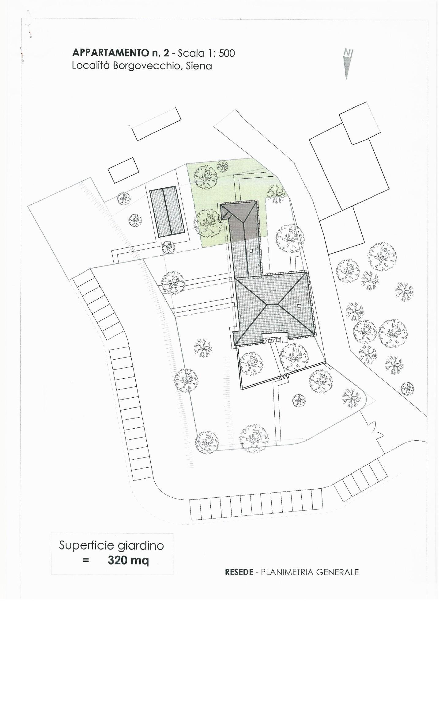 Appartamento in vendita a Siena, 5 locali, prezzo € 320.000 | CambioCasa.it