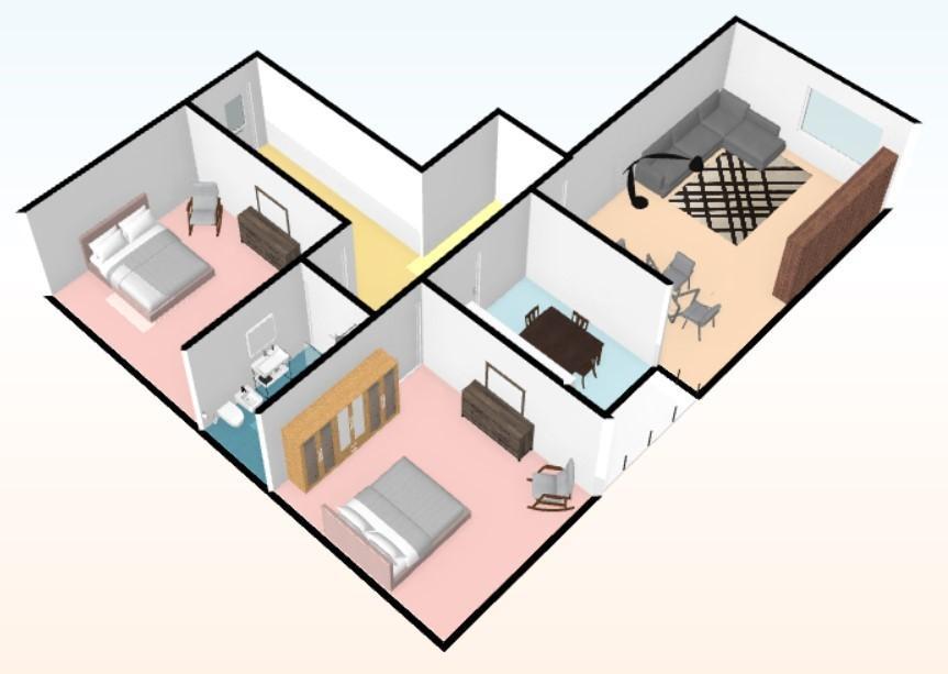 Appartamento in affitto, rif. A261