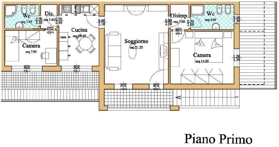 Appartamento in affitto, rif. A262