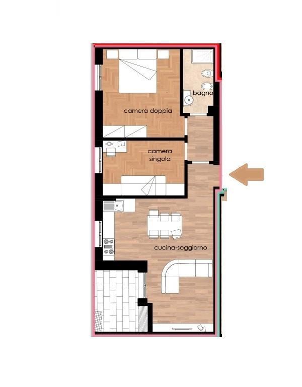 Appartamento in vendita, rif. 320-p