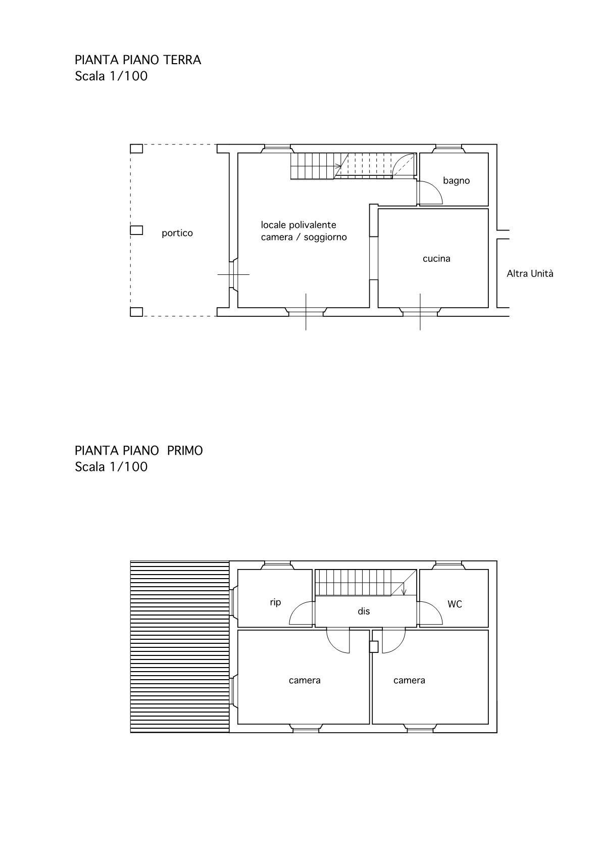 Villetta a schiera angolare in vendita, rif. 02487