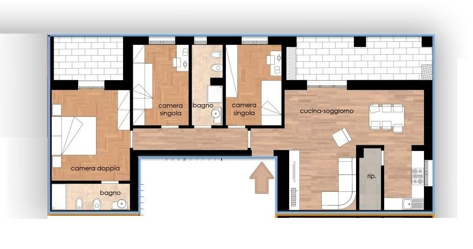 Appartamento in vendita, rif. 321-p