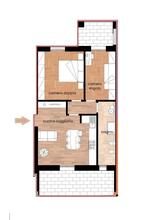 Appartamento in vendita, rif. 323-p