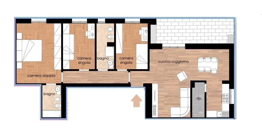 Appartamento in vendita, rif. 234-p