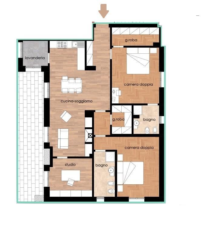 Appartamento in vendita, rif. 230-p