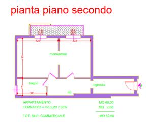 Appartamento a Pisa (2/3)