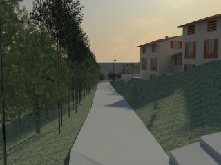 Terreno edif. residenziale a Fauglia (4/5)