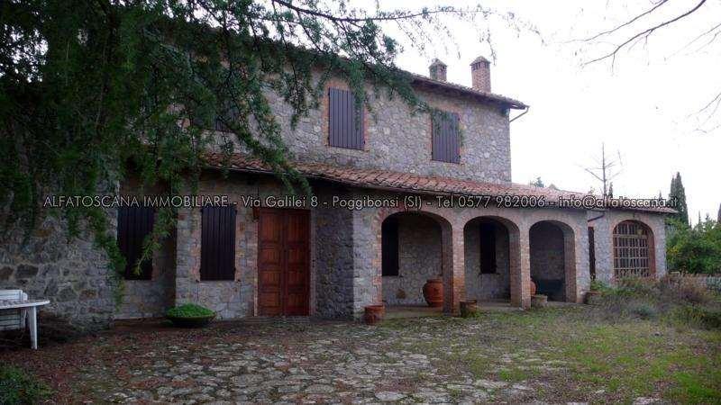 Villa singola a Castelnuovo Berardenga (1/5)