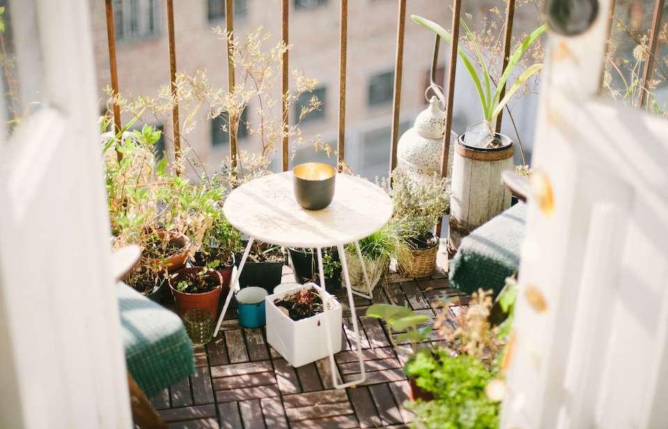 Balcone verde: come trasformare il balcone in un'oasi di pace?
