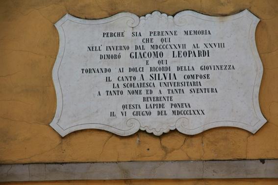 Casa di Giacomo Leopardi a Pisa diventa un centro per studiare…l'Infinito.
