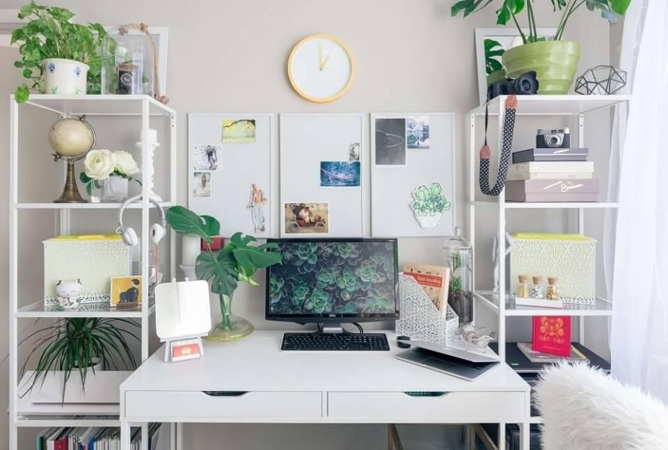 Lavori da casa? 5 consigli per organizzare il tuo studio.
