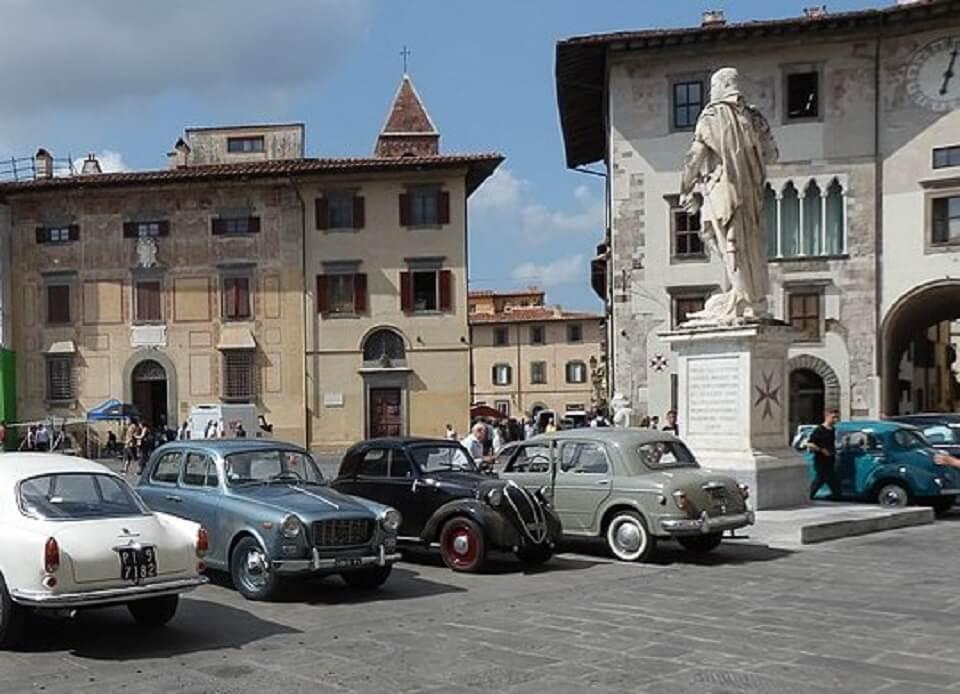 """Pisa irrompe con tutta la sua bellezza come sfondo alle vicende de """"L'amica geniale""""."""