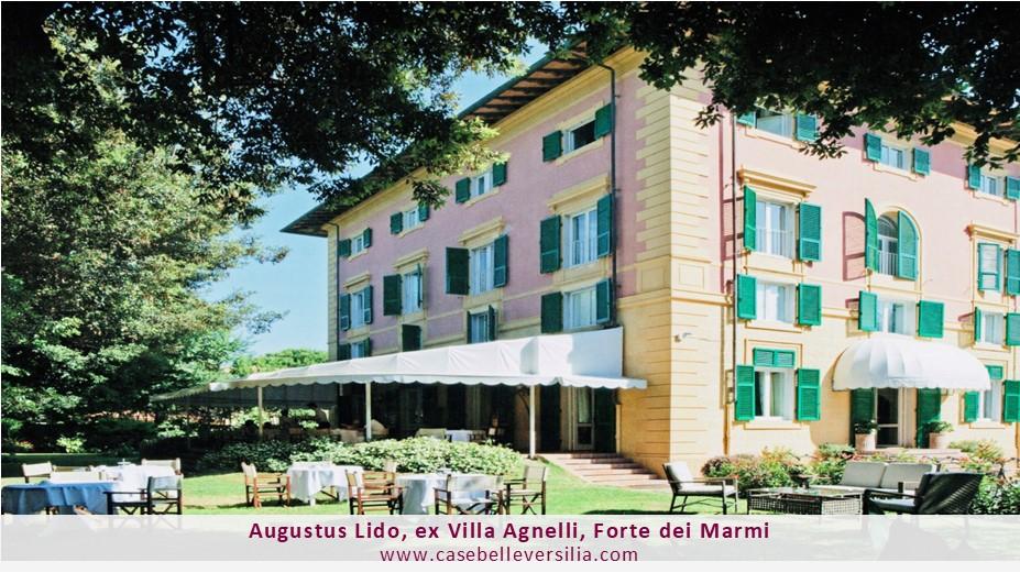 Augustus Lido, ex Villa Agnelli, Forte dei Marmi
