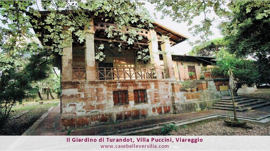 Il Giardino di Turandot, Villa Puccini, Viareggio