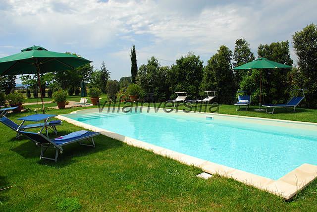 Foto 5/8 per rif. V552019 villa storica Chianti