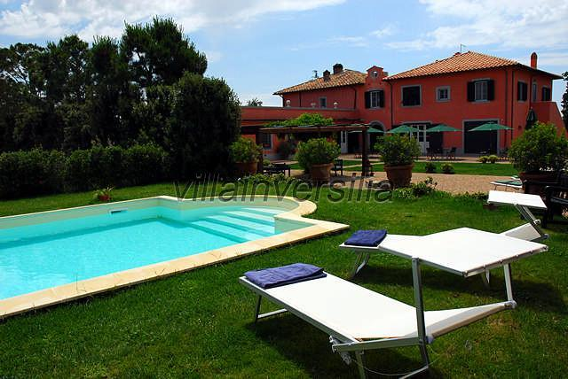 Foto 3/8 per rif. V552019 villa storica Chianti