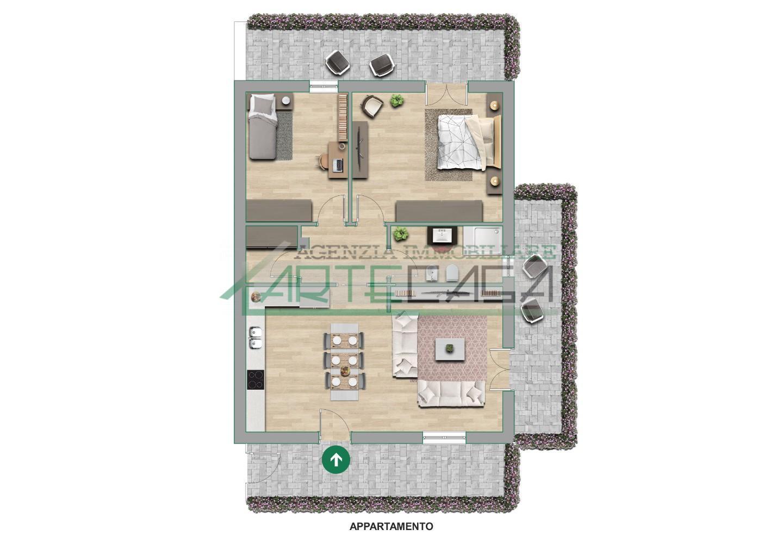 Appartamento in vendita, rif. AC6729