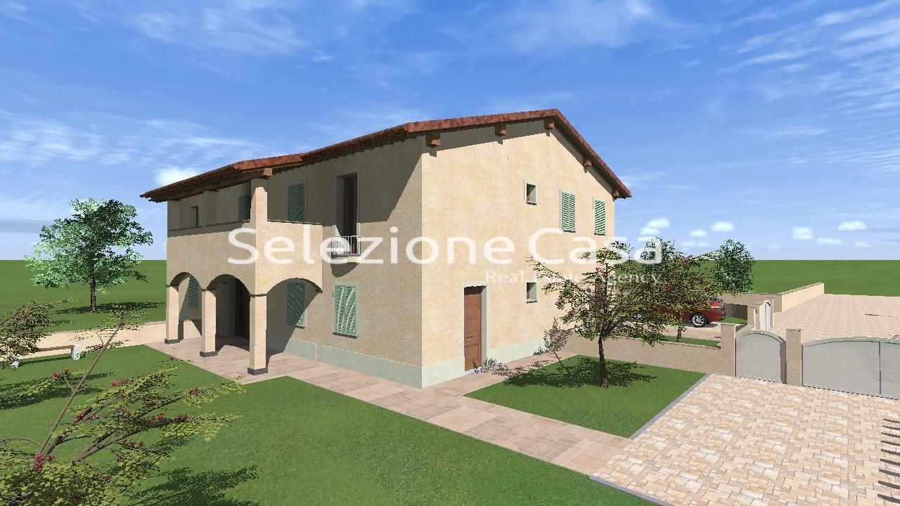 Villetta trifamiliare in vendita a Montopoli in Val d'Arno (PI)