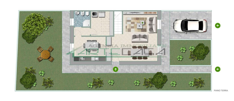 Villetta bifamiliare in vendita, rif. AC6810
