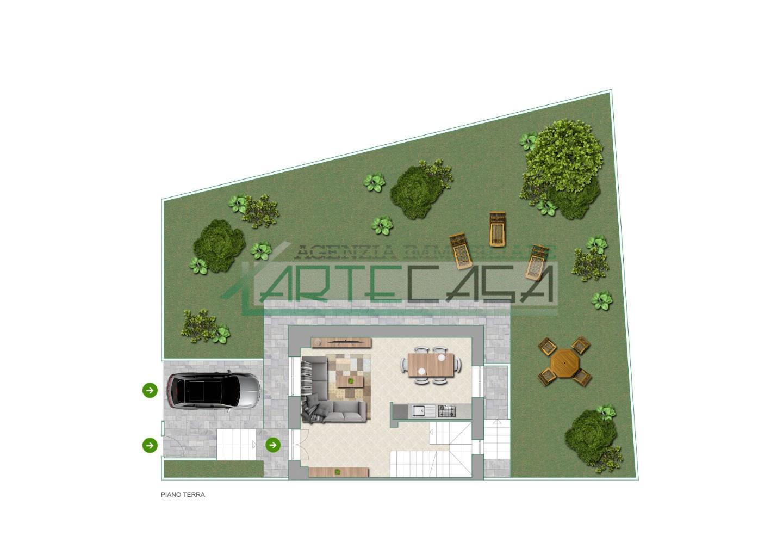 Villetta a schiera in vendita, rif. AC6814