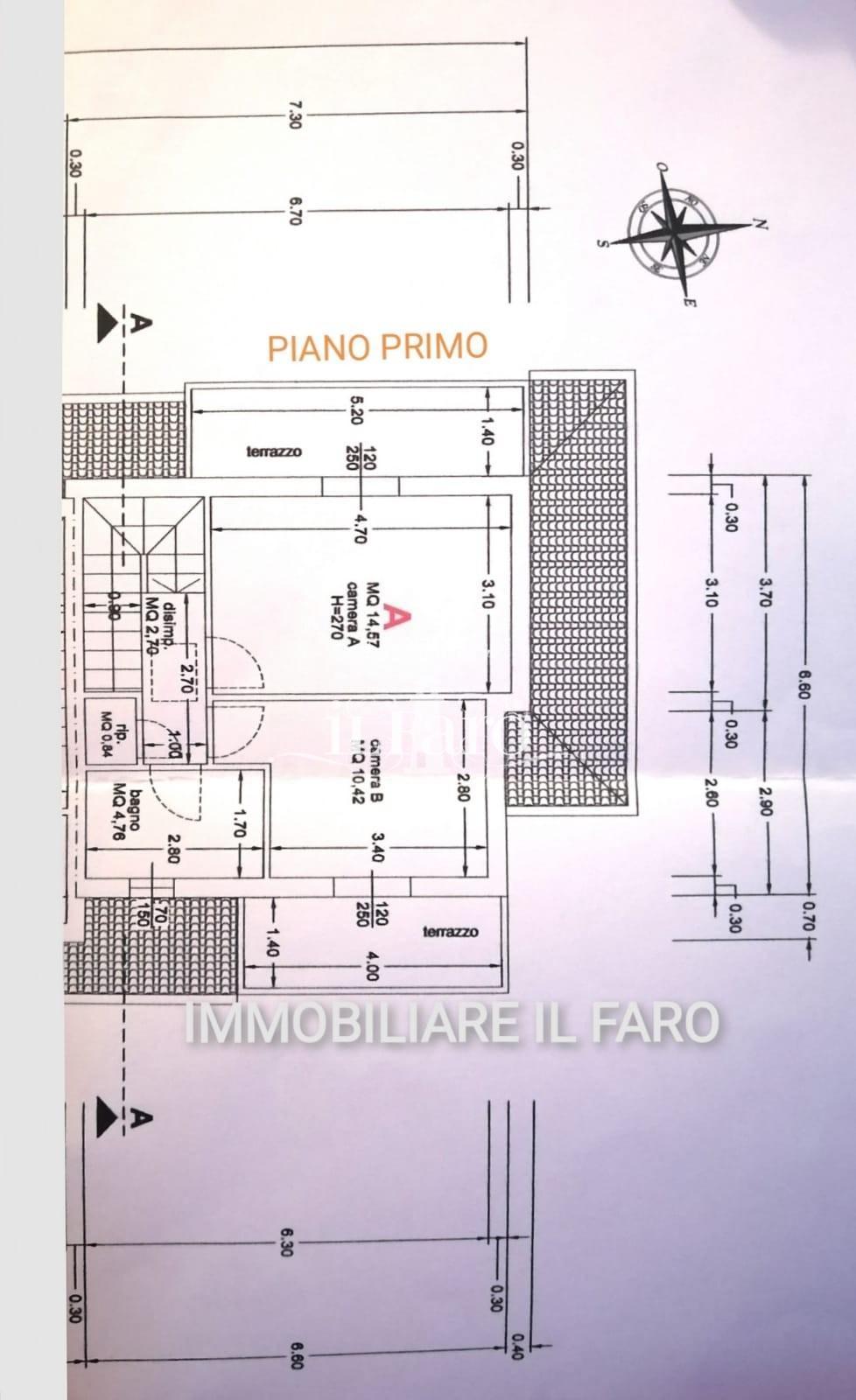 Villetta a schiera angolare in vendita, rif. P4170