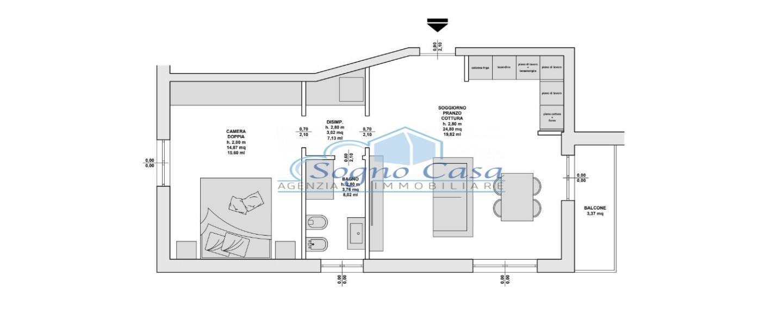 Appartamento in vendita, rif. 106971