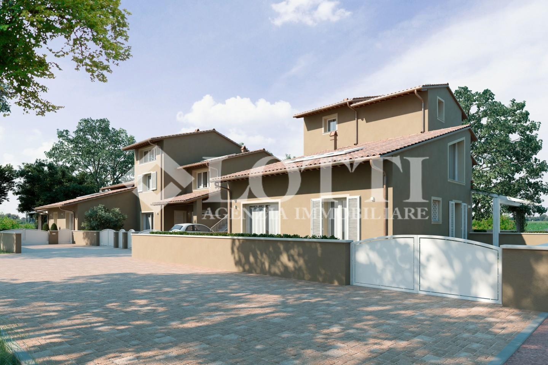 Villetta a schiera angolare in vendita a Bientina (PI)
