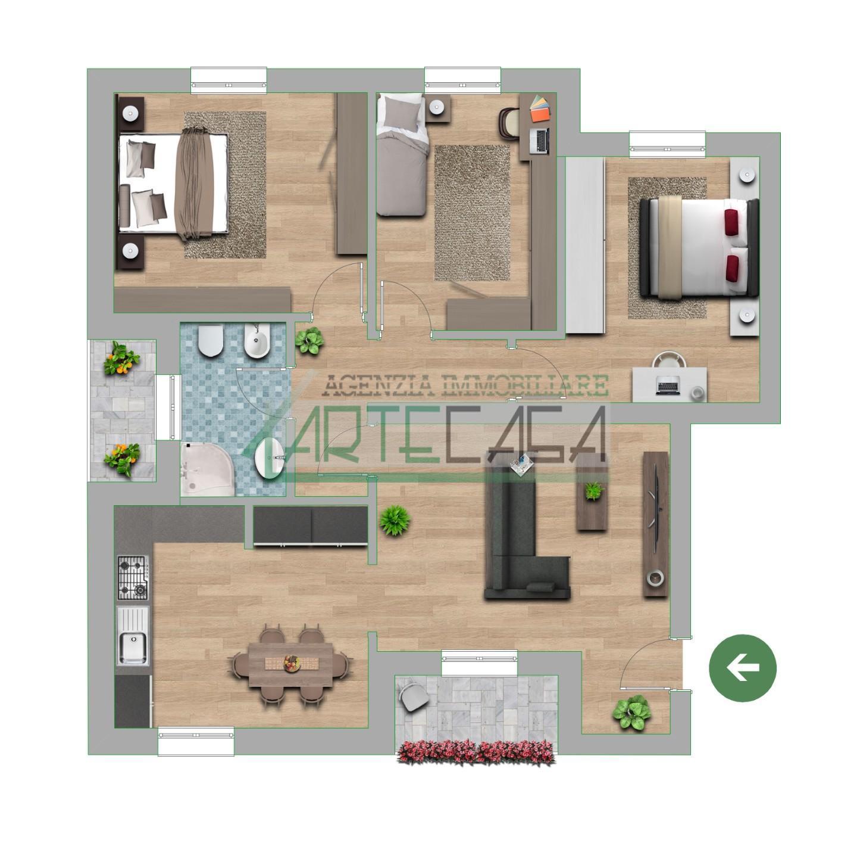 Appartamento in vendita, rif. AC6944